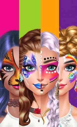 Face Paint Party! Girls Salon 2
