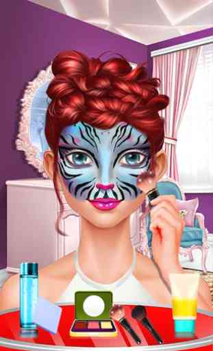 Face Paint Party! Girls Salon 3