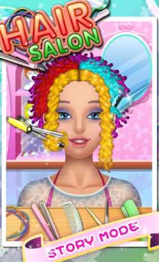 Hair Salon - Kids Games 2