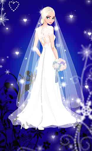 ❄ Icy Wedding ❄ Winter Bride 1