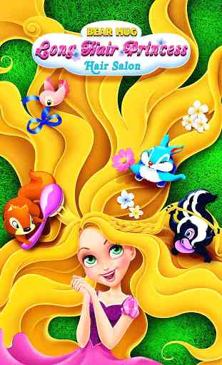 Long Hair Princess Hair Salon 1