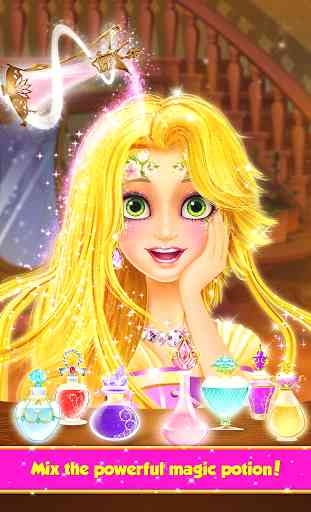 Long Hair Princess Hair Salon 2