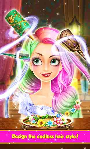 Long Hair Princess Hair Salon 3