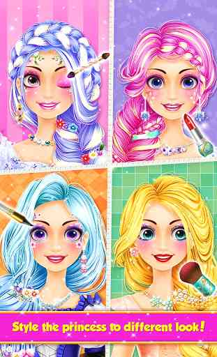 Long Hair Princess Hair Salon 4
