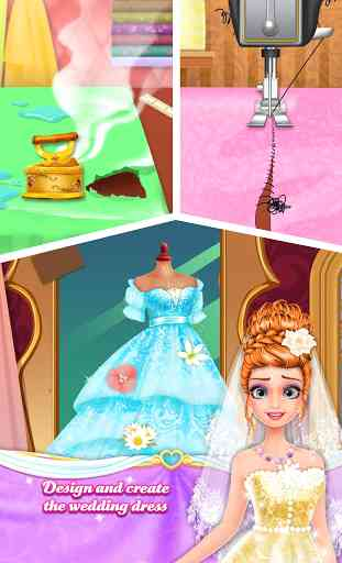 Long Hair Princess Wedding 3