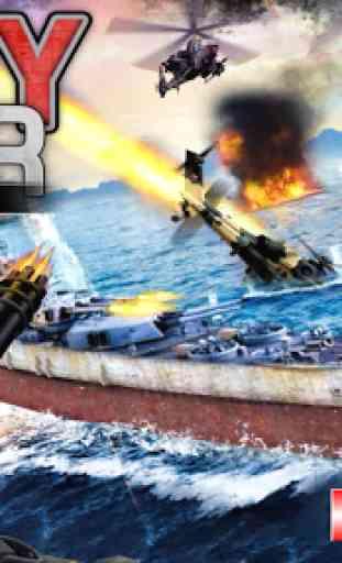Navy Gunner Shoot War 3D 3