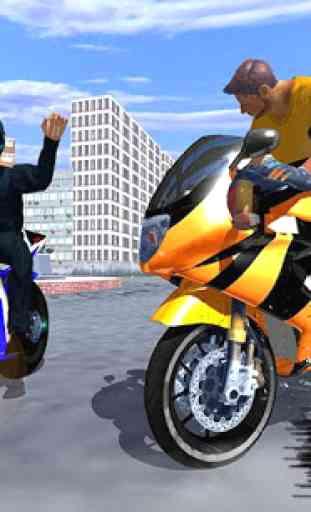 Police Bike - Gangster Chase 1