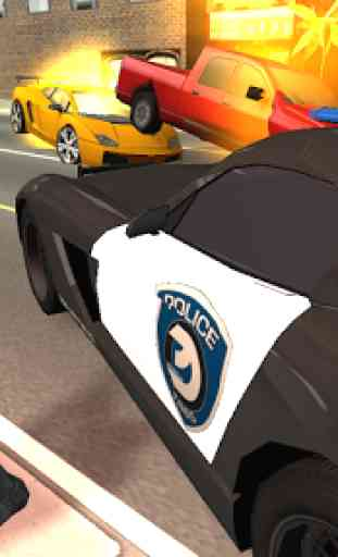 Police Car Chase 3D 2