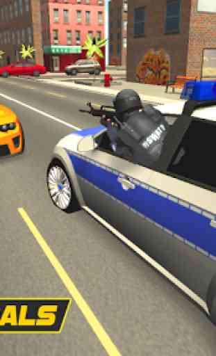 Police Car Chase 3D 3