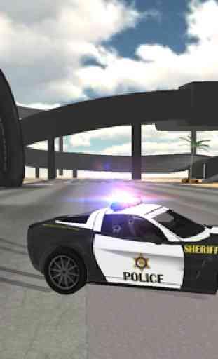 Police Car Driving Sim 2