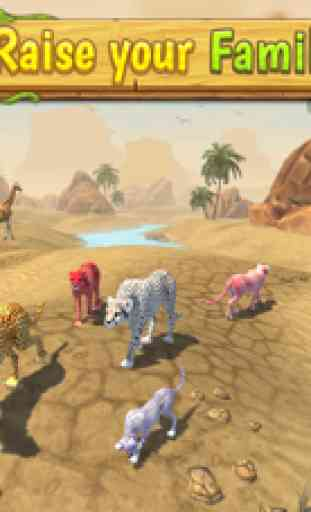 Cheetah Family Sim image 2