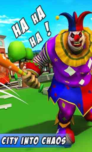 Creepy Clown Attack 1