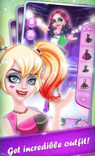 Fashionable Punk Girl`s Story 1