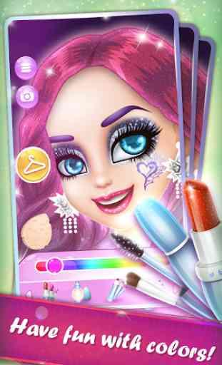 Fashionable Punk Girl`s Story 2