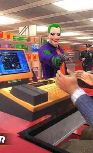 City Gangster Clown Attack 3D 2
