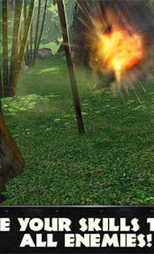 Jungle Commando 3D: Shooter 3