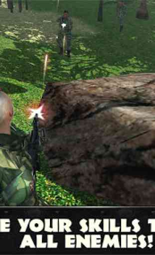 Jungle Commando 3D: Shooter 4