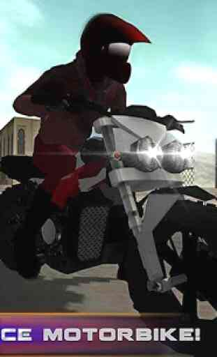 Police Motorcycle Secret Agent 1