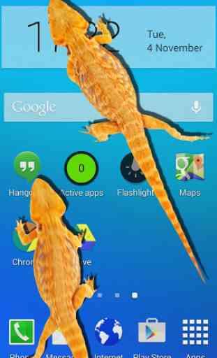 Lizard in phone funny joke 1