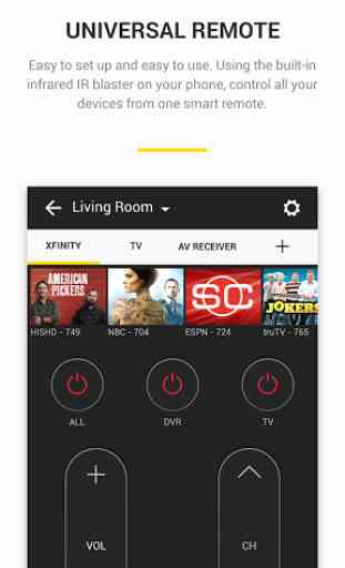 Peel Smart Remote TV Guide 3