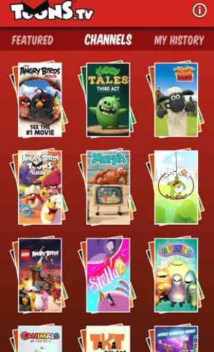 ToonsTV: Angry Birds video app 2