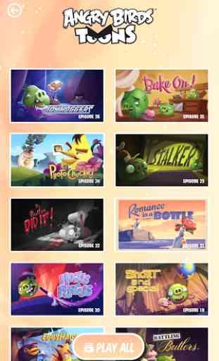 ToonsTV: Angry Birds video app 3