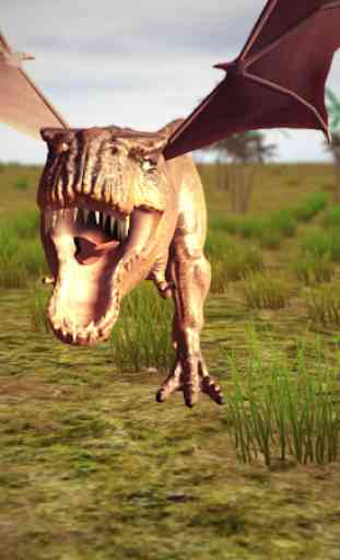 Flying Trex animal simulator 1