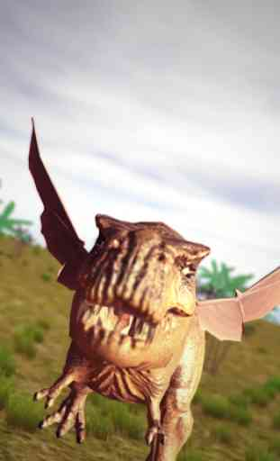 Flying Trex animal simulator 2