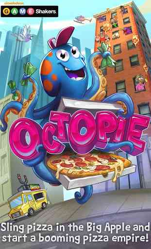 OctoPie – a GAME SHAKERS App 1