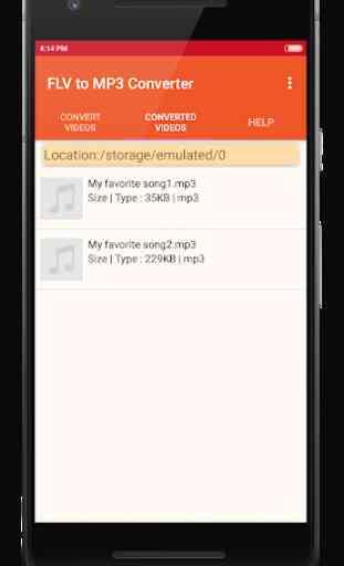 FLV to MP3 Converter 3