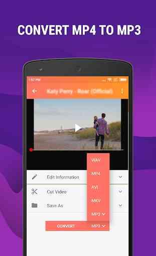 Mp4 to Mp3 - Convert Video to Audio, Cut Ringtones 1