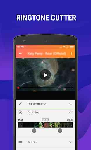 Mp4 to Mp3 - Convert Video to Audio, Cut Ringtones 3