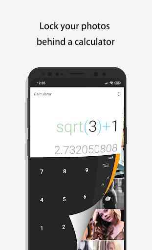 Calculator - Photo Vault & Video Vault hide photos 1