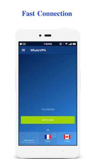 WhatsVPN - Unlimited Free VPN 2
