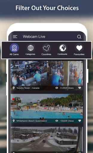 World Live Camera Viewer : Webcam, Earth cam 1