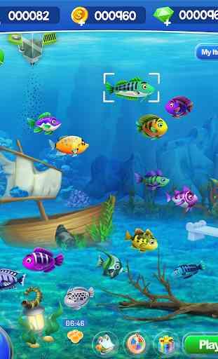 Fish Aquarium Bubble World 1