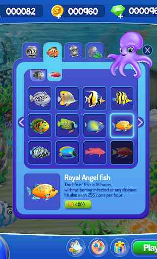 Fish Aquarium Bubble World 2