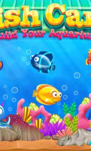 Fish care games: Build your aquarium 2