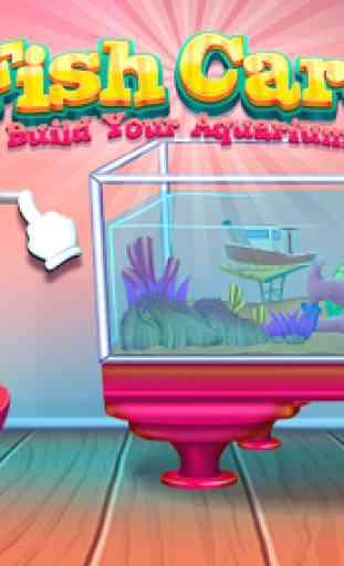 Fish care games: Build your aquarium 3