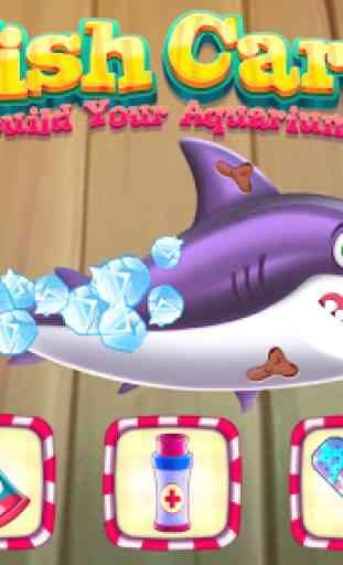 Fish care games: Build your aquarium 4