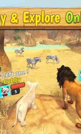 Lion Family Sim Online image 3