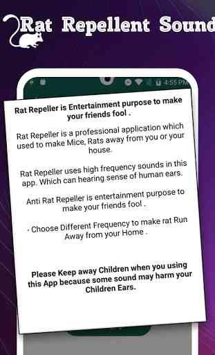 Rat Repellent Sound Simulator 3