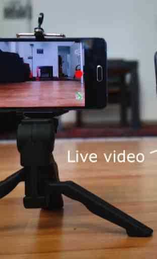 Security camera for smartphones, Lexis Cam 1