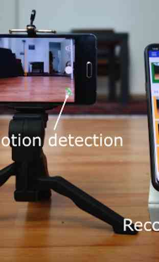 Security camera for smartphones, Lexis Cam 2