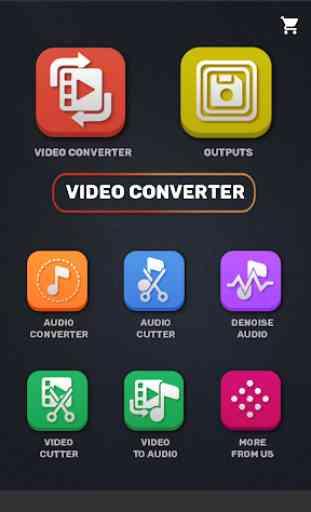 Video Converter, Compressor MP4, 3GP, MKV,MOV, AVI 2