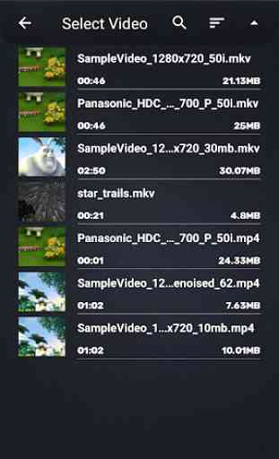 Video Converter, Compressor MP4, 3GP, MKV,MOV, AVI 4