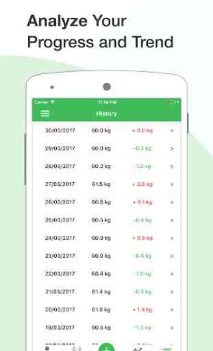 BMI Calculator - Weight Tracker - Body Fat Percent 4