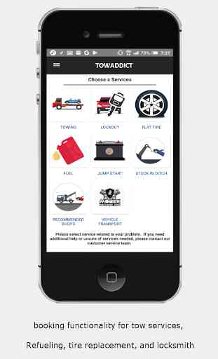 Roadside assist App 1