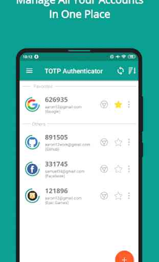 TOTP Authenticator – 2FA with Cloud Sync & Widgets 1