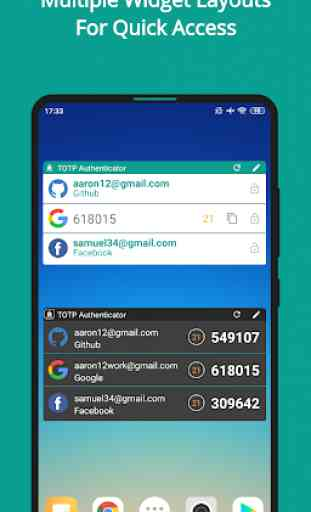TOTP Authenticator – 2FA with Cloud Sync & Widgets 4